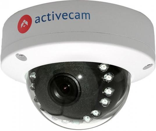 цена на Видеокамера ActiveCam AC-D3121IR1 CMOS 1/2.9 2.8 мм 1920 x 1080 H.264 RJ-45 LAN PoE белый