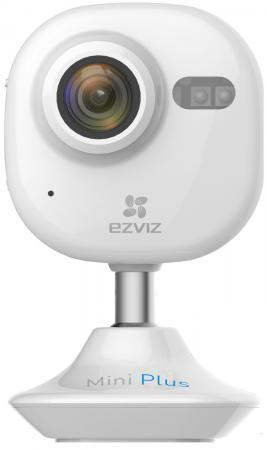 Видеокамера EZVIZ CS-CV200-A0-52WFR CMOS 1/2.7 2.8 мм 1920 x 1080 H.264 MJPEG RJ-45 LAN Wi-Fi PoE белый видеокамера ip ezviz cs cv220 a0 52wfr 4 мм белый [c4s wi fi ]
