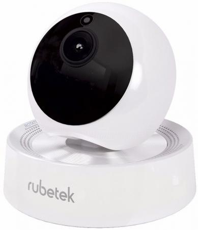Купить Видеокамера Rubetek RV-3407 CMOS 1/4 3.6 мм 1280 x 720 H.264 RJ-45 LAN Wi-Fi белый