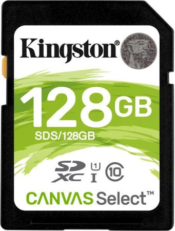 Карта памяти SDXC 128GB Class 10 Kingston SDS/128GB