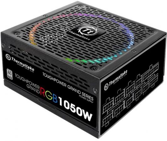 Блок питания ATX 1050 Вт Thermaltake Toughpower Grand RGB PS-TPG-1050F1FAPE-1 блок питания accord atx 1000w gold acc 1000w 80g 80 gold 24 8 4 4pin apfc 140mm fan 7xsata rtl
