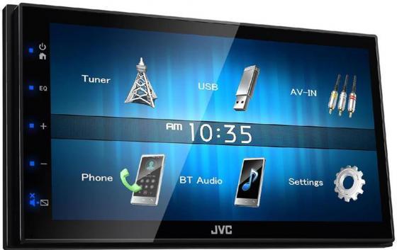 Автомагнитола JVC KW-M24BT USB MP3 FM RDS 2DIN 4x50Вт черный автомагнитола jvc kw v320bt usb
