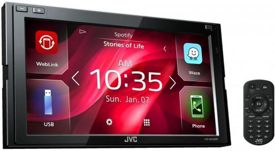 Автомагнитола JVC KW-M540BT USB MP3 FM RDS 2DIN 4x50Вт черный gps navigation hd 2din 6 2 inch car stereo dvd player bluetooth ipod mp3 tv camera