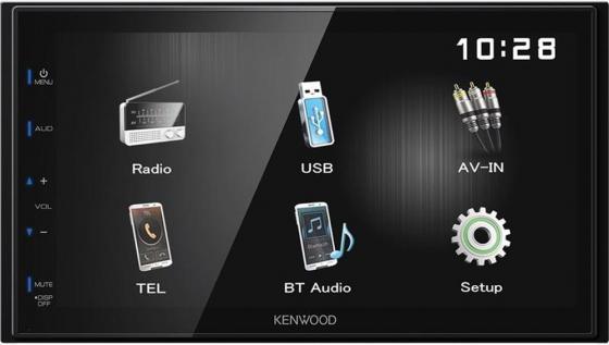 Автомагнитола Kenwood DMX110BT USB MP3 FM 2DIN 4х50Вт черный автомагнитола kenwood kdc 151ry usb mp3 cd fm 1din 4х50вт черный