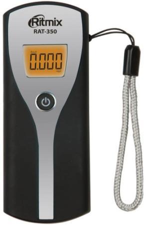 Алкотестер Ritmix RAT-350 черный/серебристый