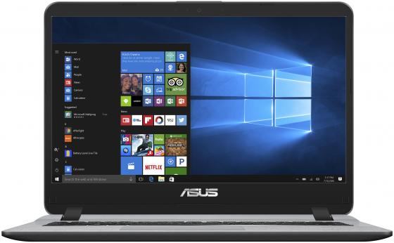 Ноутбук ASUS X407UA-EB018T 14 1920x1080 Intel Core i3-6006U 1 Tb 4Gb Intel HD Graphics 520 серый Windows 10 Home 90NB0HP1-M01410 x401a for asus x301a x501a motherboard original new i3 2350m rev3 0 100% tested