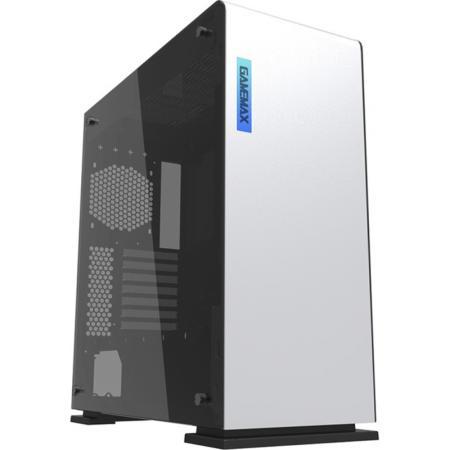 цены Корпус ATX GameMax Vega White Temp Glass(9909) Без БП белый