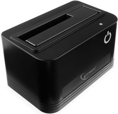 Док станция для HDD 2.5/3.5 SATA Gembird HD32-U3S-4 USB3.0 черный док станция для hdd agestar 3ubt3 6g черный