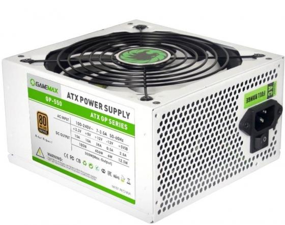 Блок питания ATX 550 Вт GameMax GP-550 блок питания gamemax gm 500g 500w