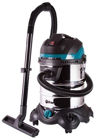 лучшая цена Промышленный пылесос BORT BSS-1425-PowerPlus сухая влажная уборка чёрный синий серебристый