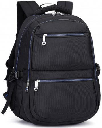 """Рюкзак для ноутбука 15.6"""" Continent BP-101 BB полиэстер черный"""