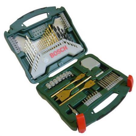 Набор инструментов Bosch X-Line 70предметов + плоскогубцы 2607017197 набор инструментов bosch v line 48 х6 в дисплее 2607017303