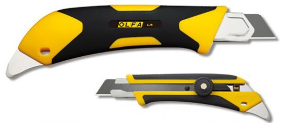 Нож Olfa двухкомпонентный корпус трещоточный фиксатор 18мм OL-L-5 стоимость