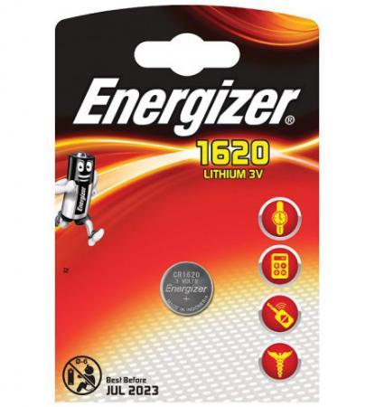 ENERGIZER Батарейка Lithium CR1620 PIP 1шт clock repair 15x magnifier lens with white led light 2 x cr1620