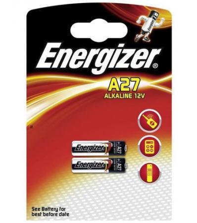ENERGIZER Батарейка алкалиновая A27 FSB 2шт батарейка алкалиновая эра energy тип a27 1bl 12в