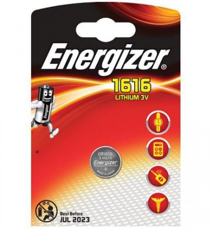 ENERGIZER Батарейка Lithium CR1616 PIP 1шт