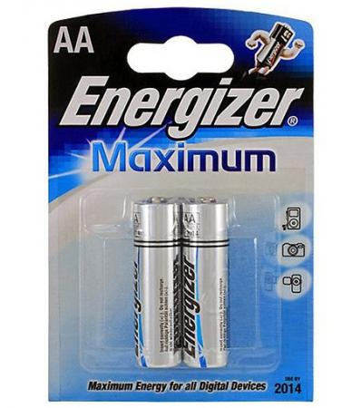 ENERGIZER Батарейка алкалиновая Maximum LR6/R6 тип АА 2шт батарейка energizer maximum lr6 bp2 2шт в блистере