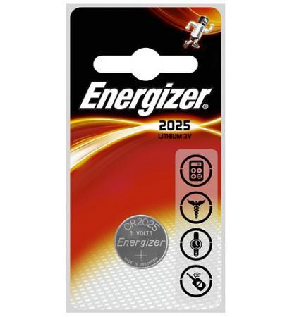 ENERGIZER Батарейка Lithium CR2025 FSB 2шт energizer chvc3 base eu e300320900