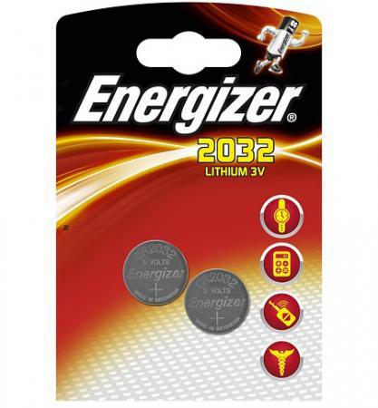 ENERGIZER Батарейка Lithium CR2032 FSB 2шт батарейка energizer miniatures lithium cr2032 2 шт