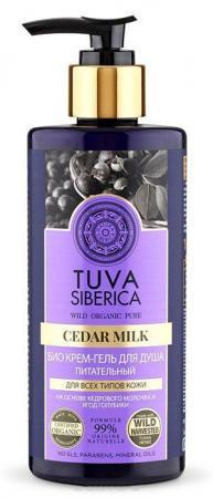 Гель для душа NATURA SIBERICA Tuva - питательный ягода 300 мл natura siberica tuva био крем для тела увлажняющий 300 мл