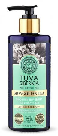 Гель для душа NATURA SIBERICA Tuva - тонизирующий 300 мл natura siberica tuva био крем для тела увлажняющий 300 мл