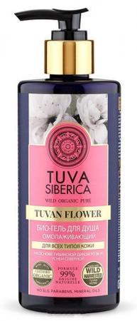 Гель для душа NATURA SIBERICA Tuva - омолаживающий роза 300 мл natura siberica tuva био крем для тела увлажняющий 300 мл