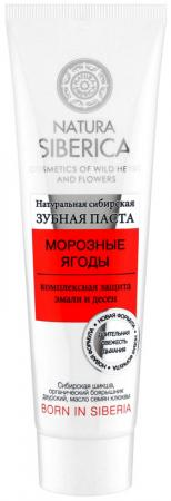 Зубная паста NATURA SIBERICA Морозные ягоды 100 гр natura siberica зубная паста арктическая защита 100 гр