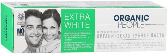 "Зубная паста Organic People ""Extra White"" 100 мл недорго, оригинальная цена"