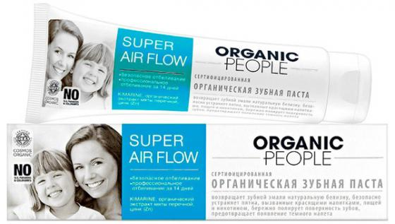 Зубная паста Organic People Super air flow 100 мл