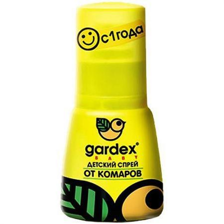 GARDEX Baby Детский спрей от комаров 50 мл спрей детский от комаров gardex baby 50 мл