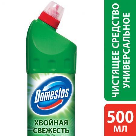 DOMESTOS Средство универсальное чистящее Хвойная свежесть 500мл domestos средство универсальное чистящее фруктовая свежесть 500мл