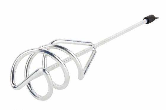 Венчик для миксера Hammer Flex 221-004 MX-AC 80 х 400 мм для песчано-гравийных смесей, оцинкованный венчик для миксера hammer flex 221 008 mx ac 140 х 600 мм для смешив краски окрашенный под резьбу