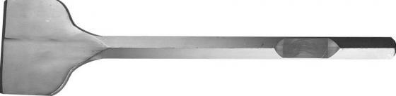 Зубило ЗУБР 29379-125-500 ПРОФЕССИОНАЛ лопаточное для молотков HEX 28мм 125х500мм