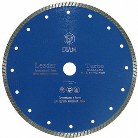 Круг алмазный DIAM Ф115x22мм LEADER 2.0x7.5мм  универсальный (Diam) Зарубино купить инструмент в интернет магазине