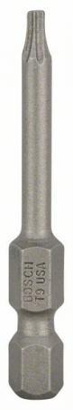 Бита BOSCH 2607001630 1шт. 49мм TORх T9 хH abc t9 electric screwdriver torx bits set silver grey 5mm shank t9