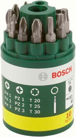 Набор бит Bosch Набор бит 2607019452 10шт цена