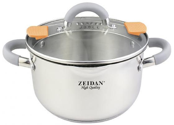 Кастрюля Zeidan Z-50291 22 см 5 л нержавеющая сталь сотейник zeidan z 50277 16 см 1 8 л нержавеющая сталь