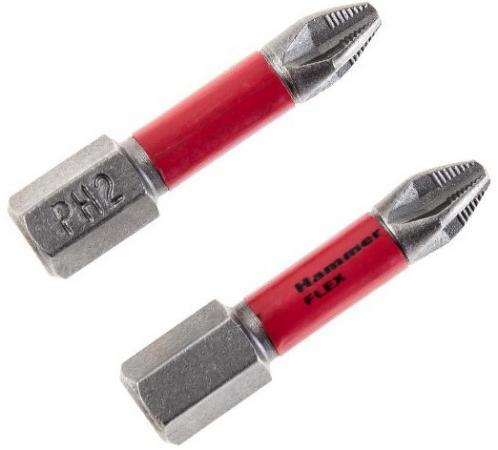 Бита Hammer Flex 203-150 торсионная PH-2 30мм (2шт.) цены