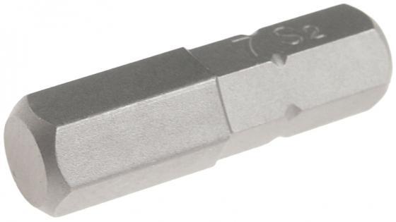 Бита JTC 1152507 1/4 DR 6-гранная 7x25мм S2 бита jtc 1373006