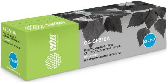 Фотобарабан Cactus CS-CF219A для HP M104a Pro/M104w Pro/M132a Pro/M132fn Pro черный 12000стр тонер cactus cs thp10 55 для hp lj m104a pro m104w pro m132a pro m132fn pro m132fw pro m132nw pro черный 55гр
