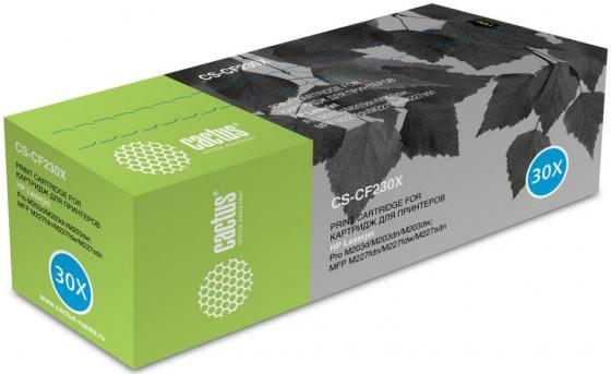 Фото - Картридж Cactus CS-CF230X для HP LJ 203/227 черный 3500стр картридж cactus csp q2613a для laserjet 1300 3500стр