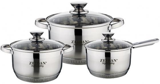 Набор посуды Zeidan Z-50625 бим и рыжова л первые шаги немецкий язык 4 кл учебник ч 2