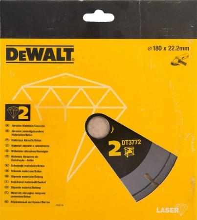цена на Диск алм. DeWALT DT3772-XJ сегментный по абразивным материалам, 180x22.2x2.4мм