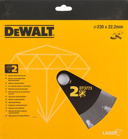 цена на Диск алм. DeWALT DT3773-XJ сегментный по абразивным материалам, 230x22.2x2.4мм