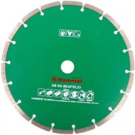 Диск алм. Hammer Flex 206-105 DB SG 230x22мм сегментный цена