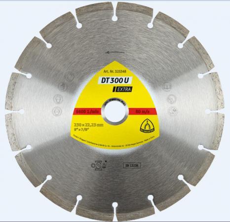 цена на Круг алм. KLINGSPOR DT 300 U EXTRA 230 X 2.2 X 22 (325348) сегментный