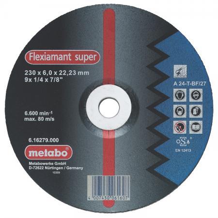 обдирочный METABO 617137000 сталь Novoflex SP150x6.0x22.23мм