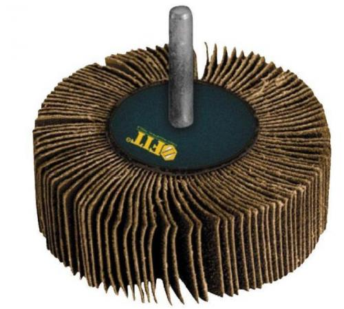 Круг Лепестковый Радиальный (КЛ) FIT 39573 для дрели 60 х 30 х 6мм ( р60 ) бумага наждачная на тканевой основе fit 23 х 28 см 10 шт р60