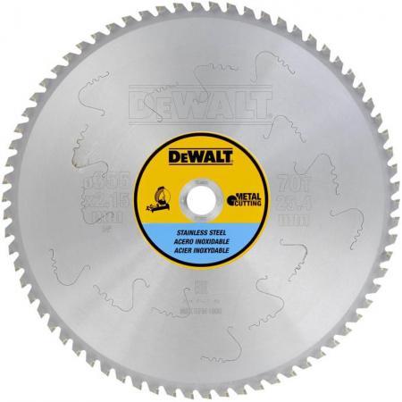 Круг пильный твердосплавный DEWALT DT1915-QZ Ф250/3060 TCG -5° EXTREME по алюминию
