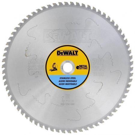 Круг пильный твердосплавный DEWALT DT1922-QZ Ф355/25.4 90 MTCG +10° EXTREME по нержавейке